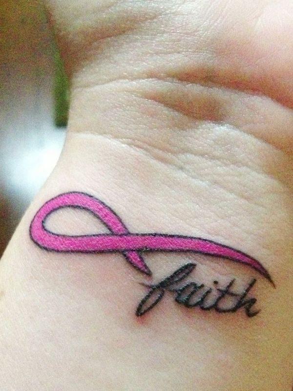 130 Inspiring Breast Cancer Ribbon Tattoos (May 2018)