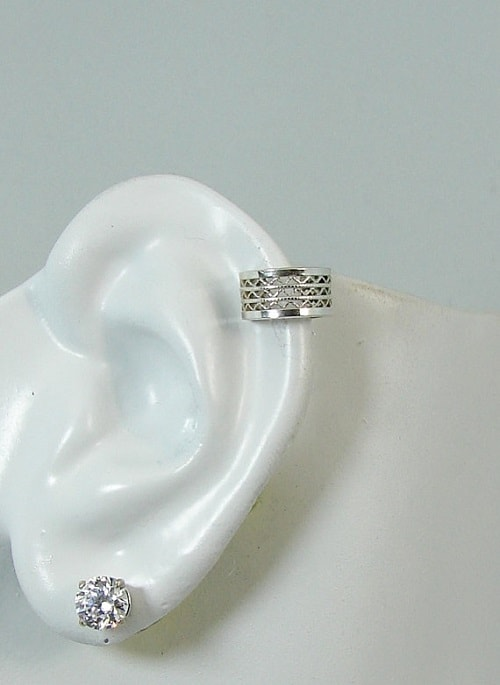 Sterling Silver Wire Post Conch Pierced Cartilage Helix