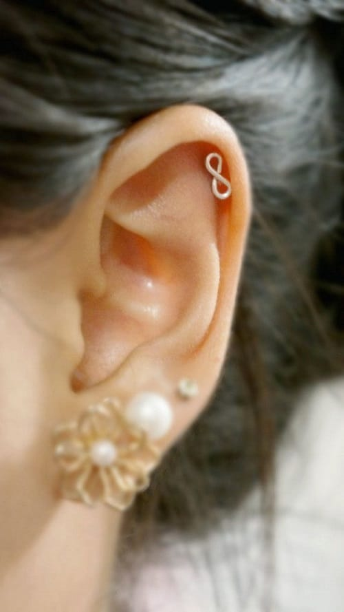 Helix Earrings. If you've got a piercing to make pretty then our collection of body jewellery is ideal. Switch out the standard with some on-trend body jewels or some daily staple pieces to keep your piercing looking seriously fresh.