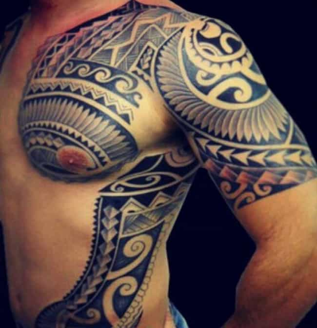 Polynesian Tattoos Designs Ideas And Meaning: 165 Perfect Arm Tattoos For Men And Women (April 2018