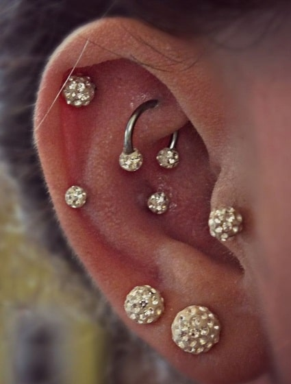 50 Rook Piercing Ideas And Faqs Ultimate Guide 2019