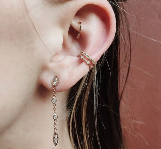 100 Conch Piercing Ideas And Faqs An Ultimate Guide 2018