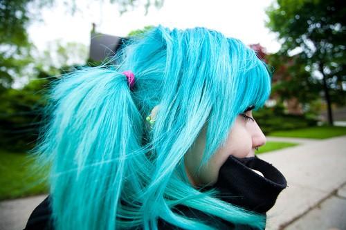 helix-piercing-blue-hair