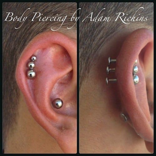 helix-piercings