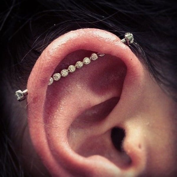 150 Best Industrial Piercing Ideas And Faqs Ultimate Guide 2019