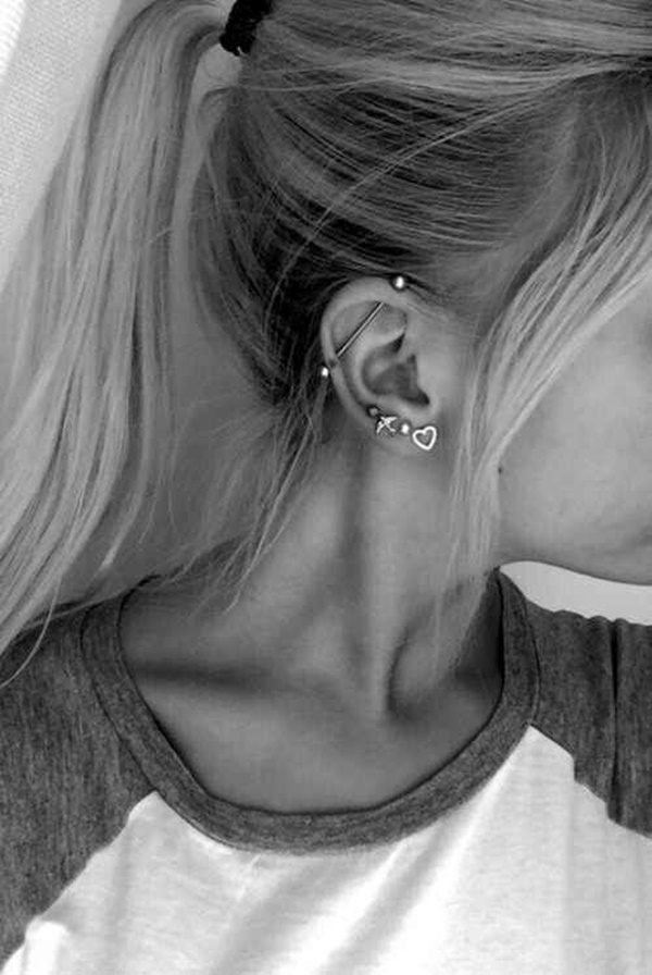 Also Check Our Articles On Por Ear Piercings Types Helix Piercing Forward Rook Snug Conch Daith