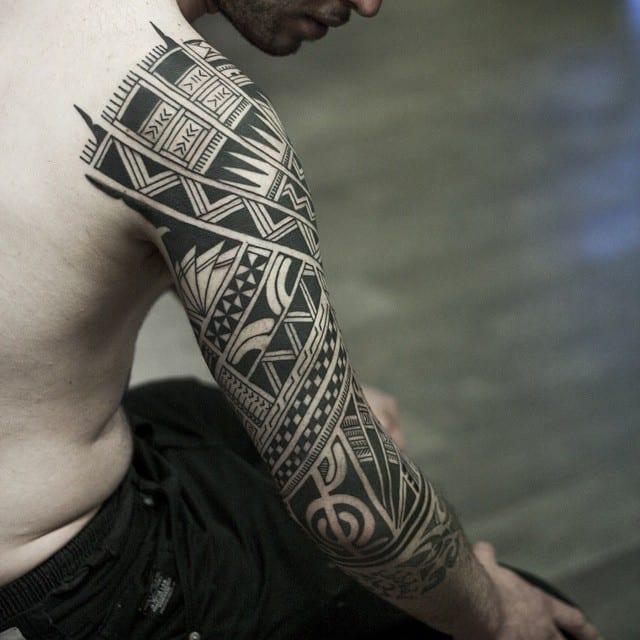 150 Tribal Samoan Tattoos For Men Women (Ultimate Guide 2020