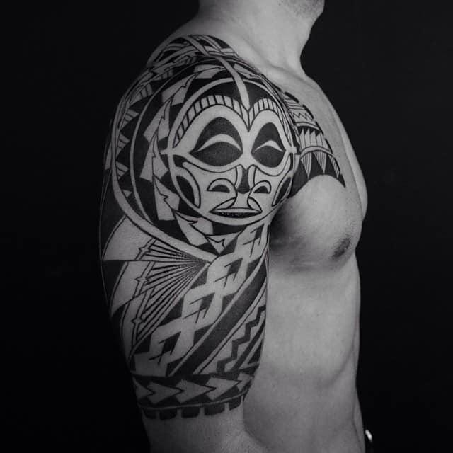 Best Polynesian Tattoo Designs Ideas: 150 Tribal Samoan Tattoos For Men Women (Ultimate Guide 2019