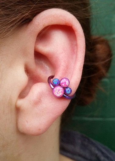 50+ Conch Piercing Ideas, Jewelry, Pain, Healing, Price Ear Piercings Anti Tragus
