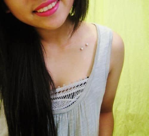 Collar Bone Piercing