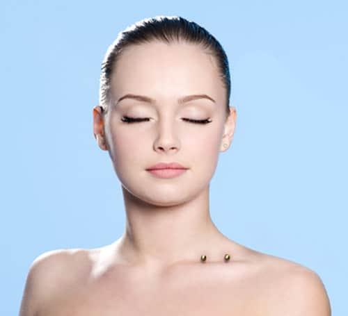 Collar Bone Piercing Design