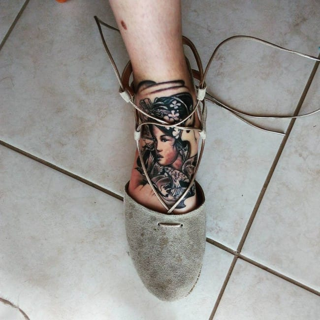 Geisha tattoos (2)