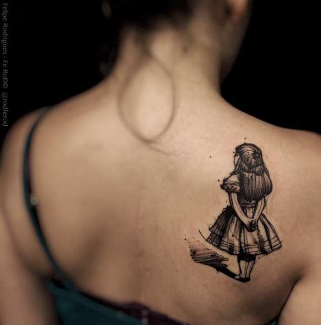 alice-in-woderland-tattoo