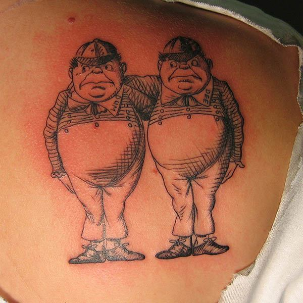 tweedledee and tweedledum