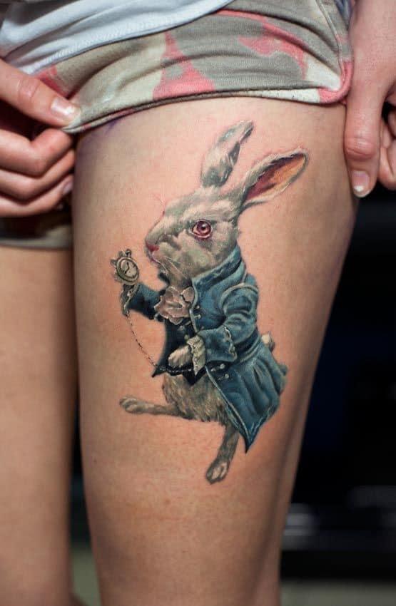 alice-in-wonderland-tattoo-white-rabbit
