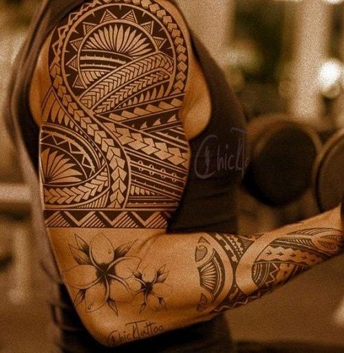 Amazing Spear Head Polynesian Tattoo