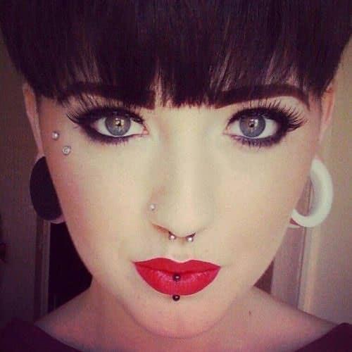 Anti Eyebrow Piercing Ideas