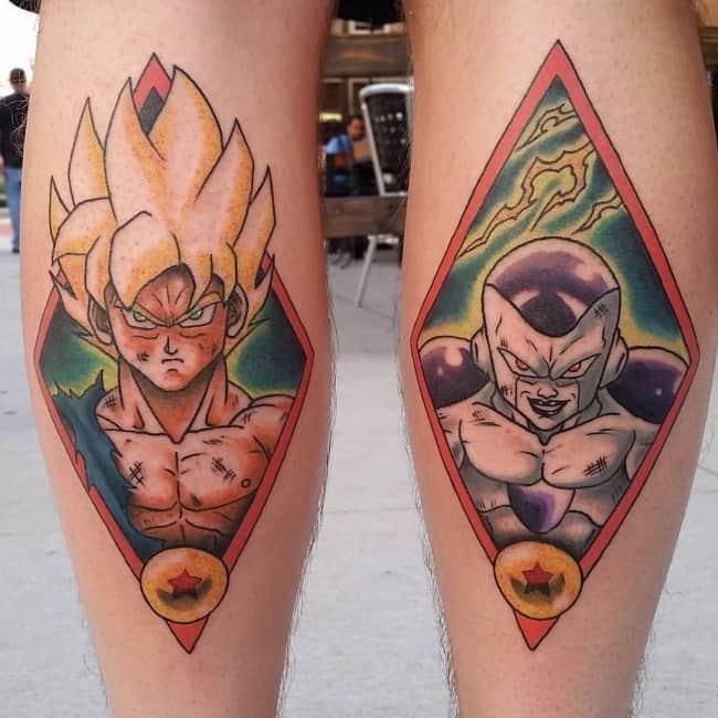 calf tattoos