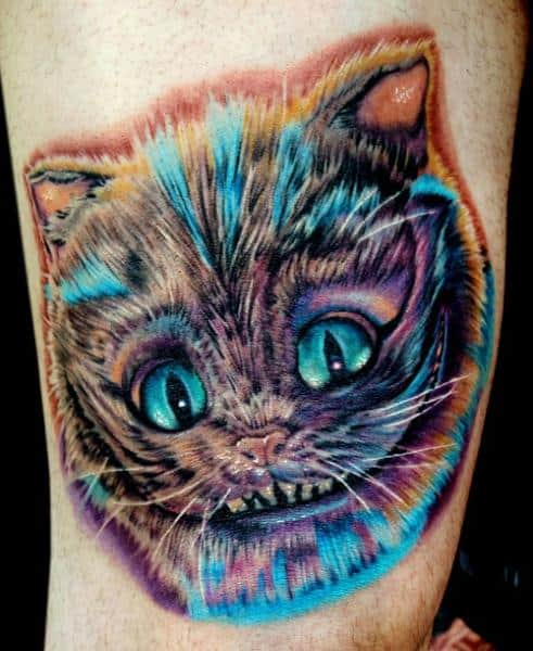 colorful-cheshire-alice-in-wonderland-tattoo