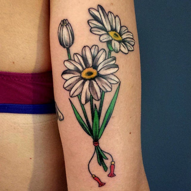 Daisy Flower Tattoo Designs: 150 Amazing Daisy Tattoos & Meanings (Ultimate Guide, June