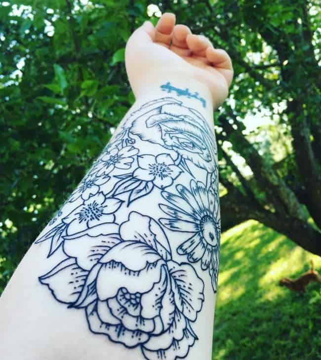 daisy tattoos (1)