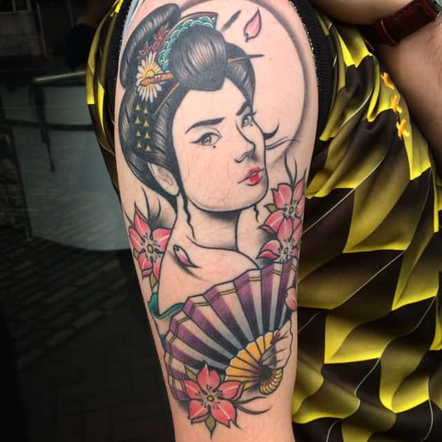 eaddcc42f 150 Japanese Geisha Tattoos Meanings (Ultimate Guide 2019)