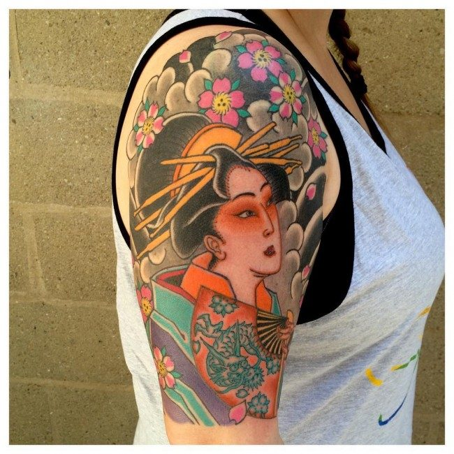 Japanese Tattoo Designs And Their Meaning Japanese Tattoo: 150 Japanese Geisha Tattoos Meanings (Ultimate Guide 2019