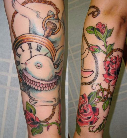 gorgeous-alice-in-wonderland-tattoo