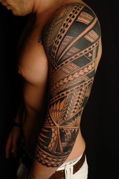 Spear Head Polynesian Tattoo