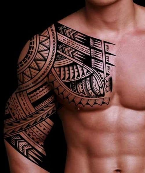 150 popular polynesian tattoos and meanings april 2018 for Polynesian sun tattoo