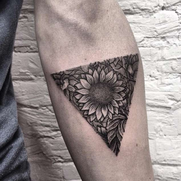 150 Vibrant Sunflower Tattoos And Meanings March 2019