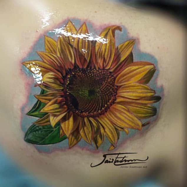 Hyperrealism Tattoo by Javier Eastman