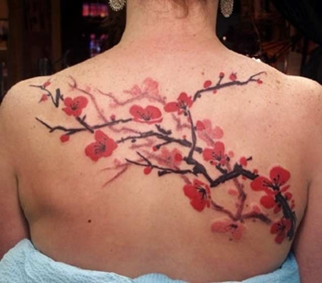 back-cherry-blossom-tattoo