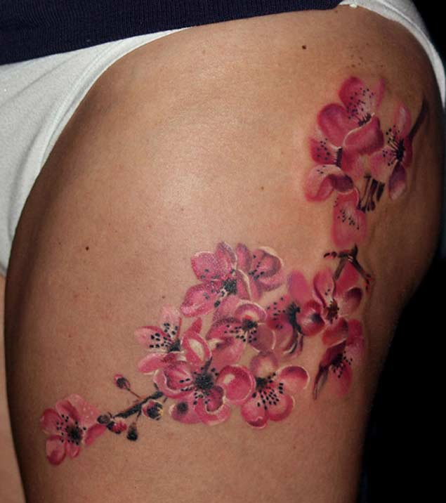 cute-cherry-blossom-tattoo