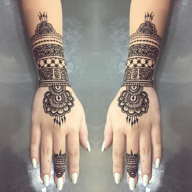 150 Best Henna Tattoos Designs (Ultimate Guide, June 2019)