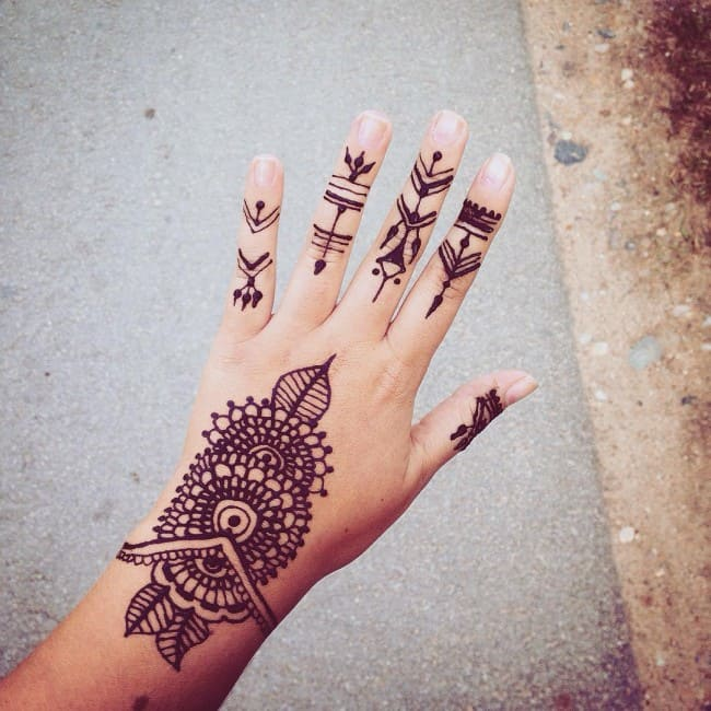 150 Best Henna Tattoos Designs Ultimate Guide January 2019