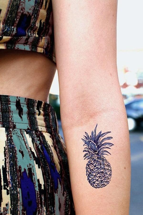 Pineapple Tattoo Designs