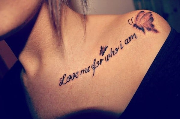 Quotes Tattoo For Girls