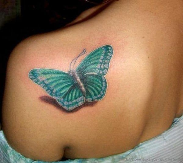 Shoulder Tattoo For Girls
