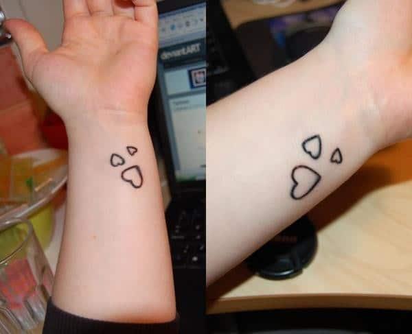 Three Hearts Tattoo