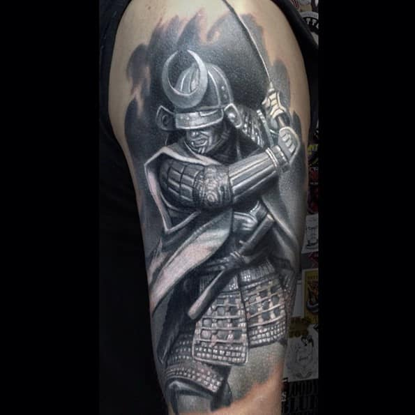 japanese-warrior-tattoo-designs