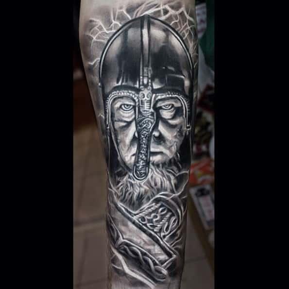 viking-warrior-tattoo-designs