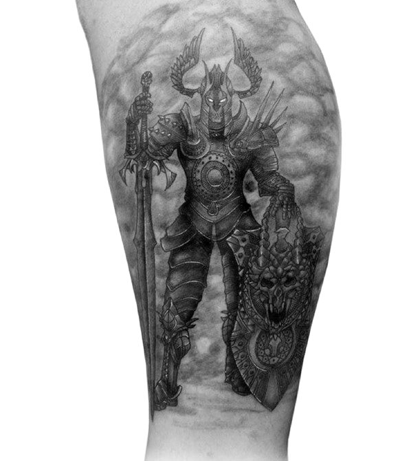 warrior-tattoo-designs