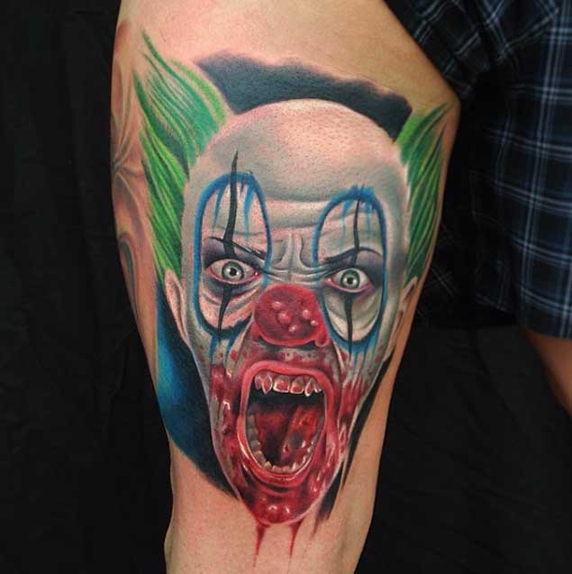 Clown Girl Tattoo Meaning: 100+ Hilarious Clown Tattoos Meanings (February 2020
