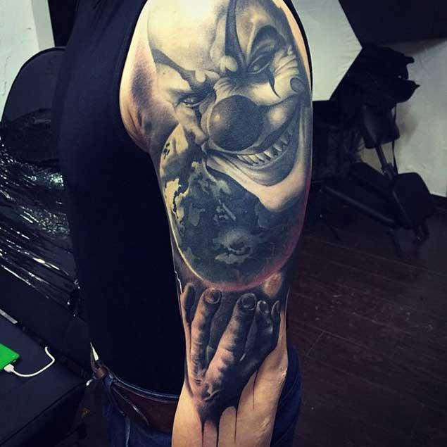 amazing-clown-tattoo