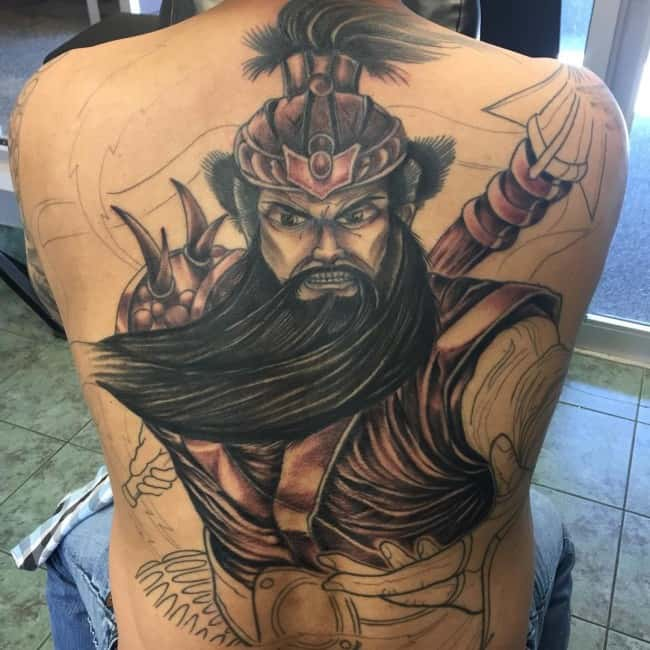 150 Gorgeous Back Tattoos For Men And Women