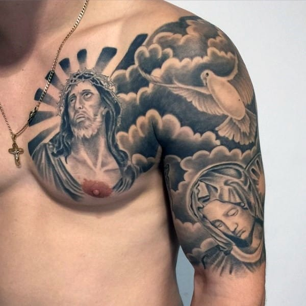 chest-and-shoulder-awesome-christian-tattoos-for-men