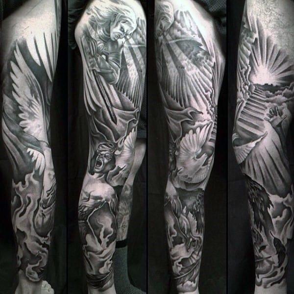 christian-dove-tattoos-for-gentlemen-full-seeve