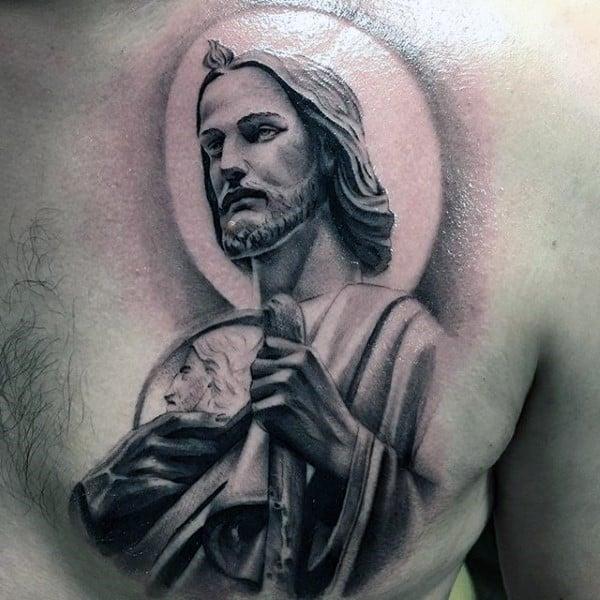 christianity-tattoos-for-men-on-upper-chest