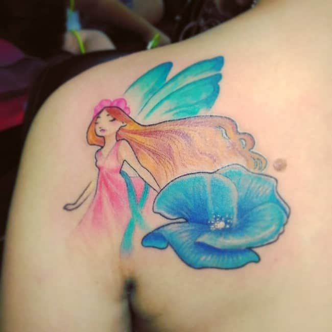 fairy tattoo 20